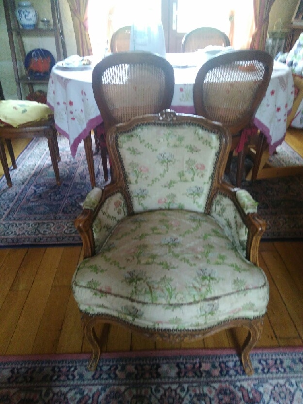 FAUTEUIL BERGERE AVANT REFECTION