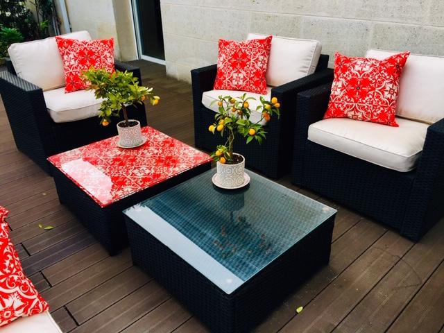 Canapés et fauteuils        extérieurs