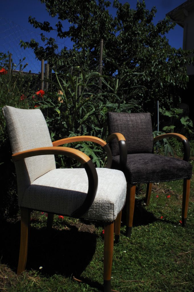 fauteuil bridge restauration complète