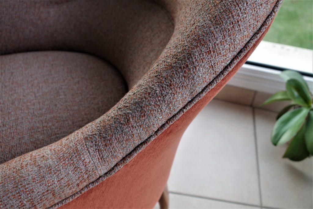 réfection fauteuil crapaud bosse