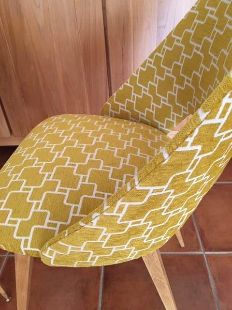 Duo de chaises années 50